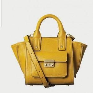 Phillip lim yellow mini hand bag.